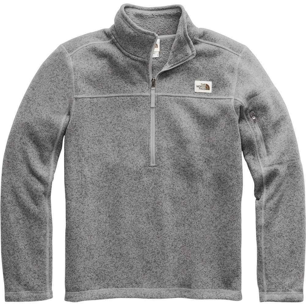 ザ ノースフェイス The North Face メンズ フリース トップス【Gordon Lyons 1/4 - Zip Fleece Pullover】Tnf Medium Grey Heather