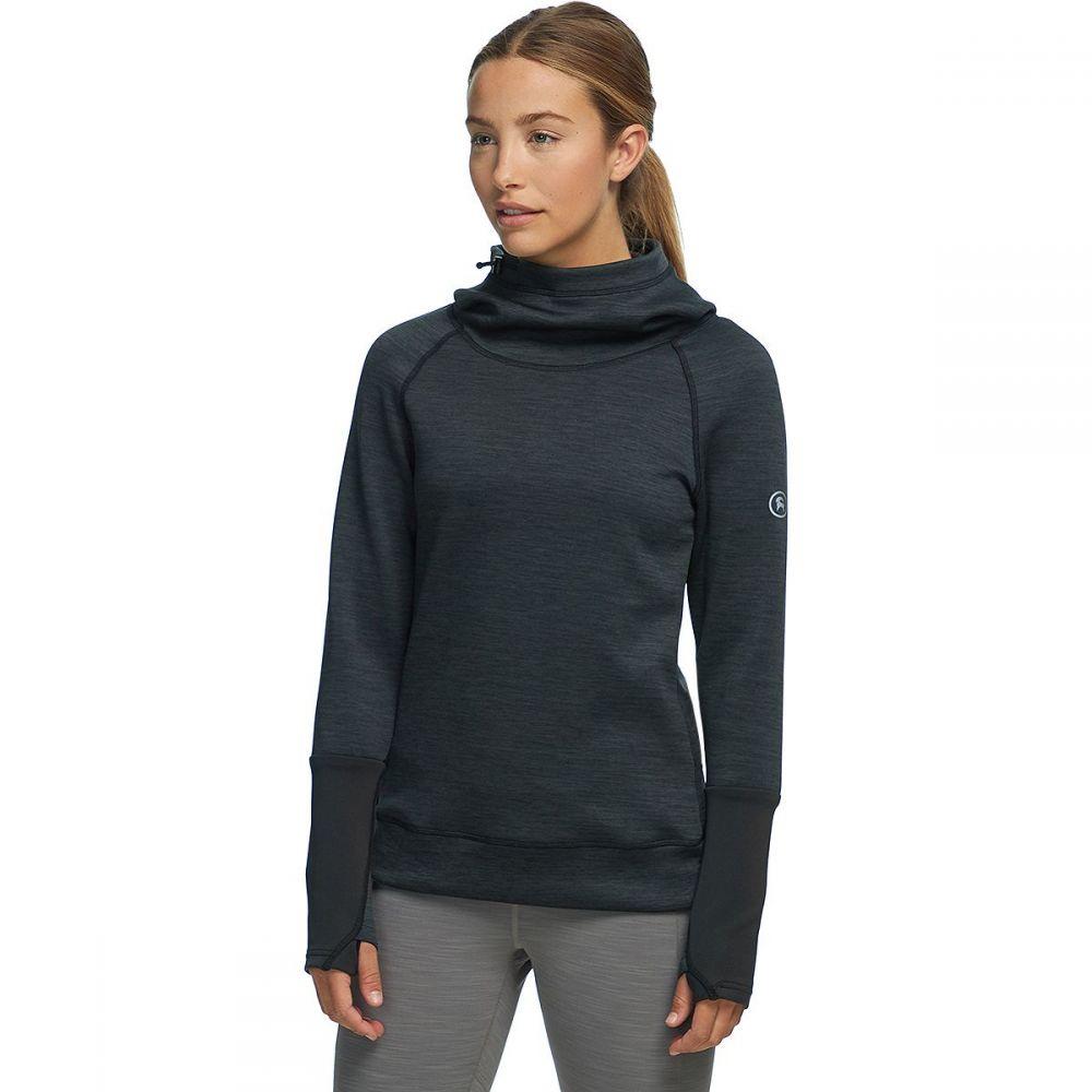 バックカントリー Backcountry レディース フリース トップス【Active Pullover Hooded Sweatshirt】Black