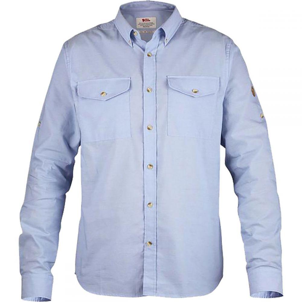 フェールラーベン Fjallraven メンズ シャツ シャンブレーシャツ トップス【Ovik Chambray Shirt】Blue Ridge