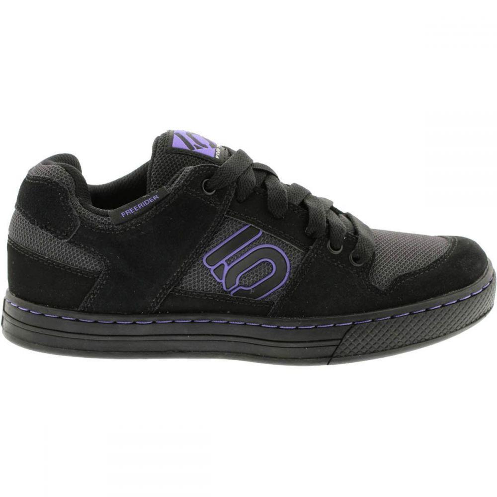 <title>ファイブテン レディース 自転車 シューズ 靴 Carbon Black Purple サイズ交換無料 Five 記念日 Ten Freerider Cycling Shoe</title>