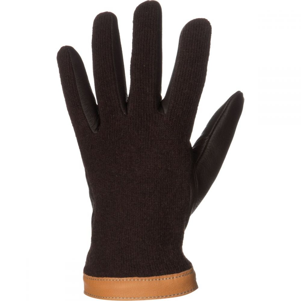 ヘスタ Hestra メンズ 手袋・グローブ 【Deerskin Wool Tricot Glove】Espresso/Dark Brown