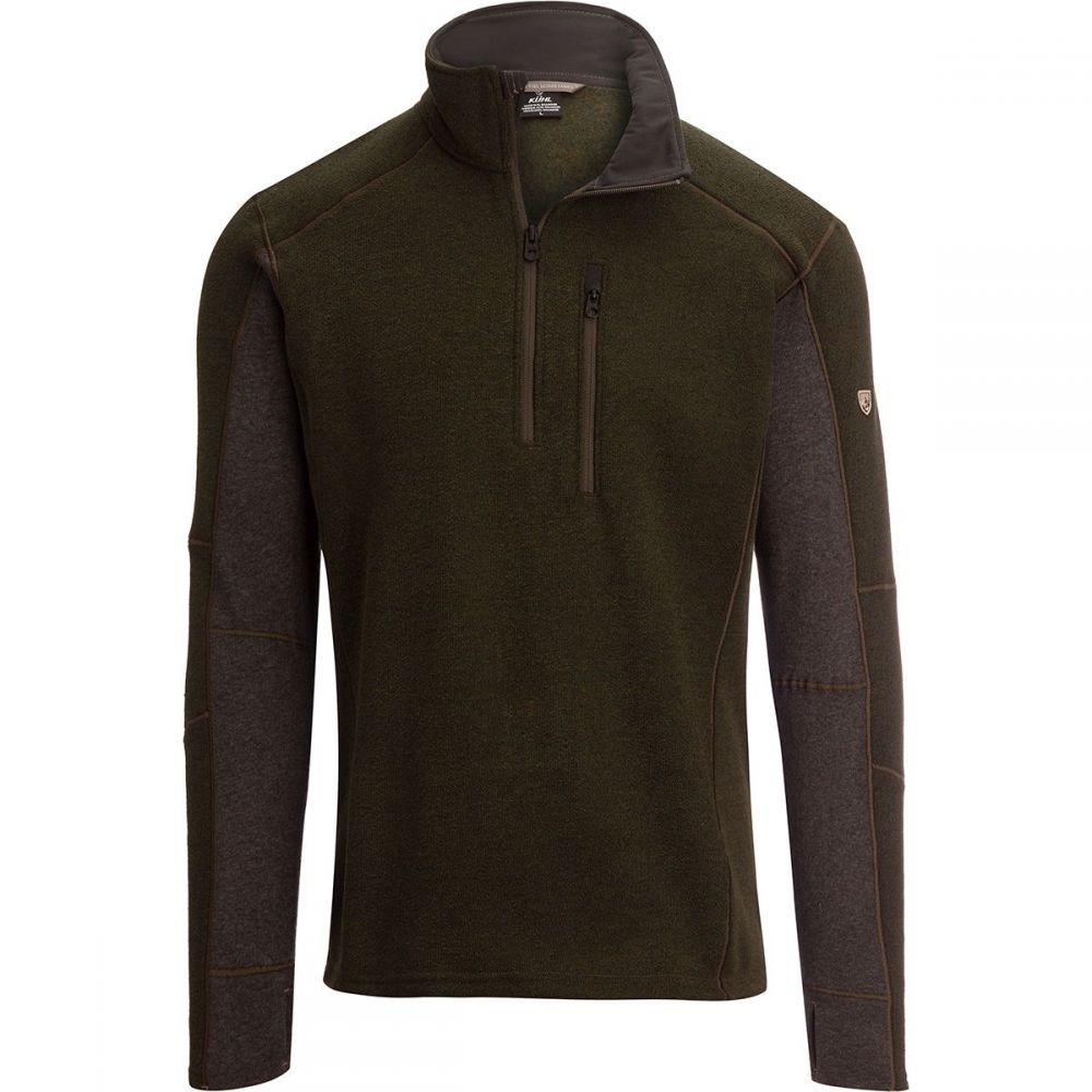 キュール KUHL メンズ フリース トップス【Interceptr 1/4 - Zip Fleece Jacket】Loden/Steel