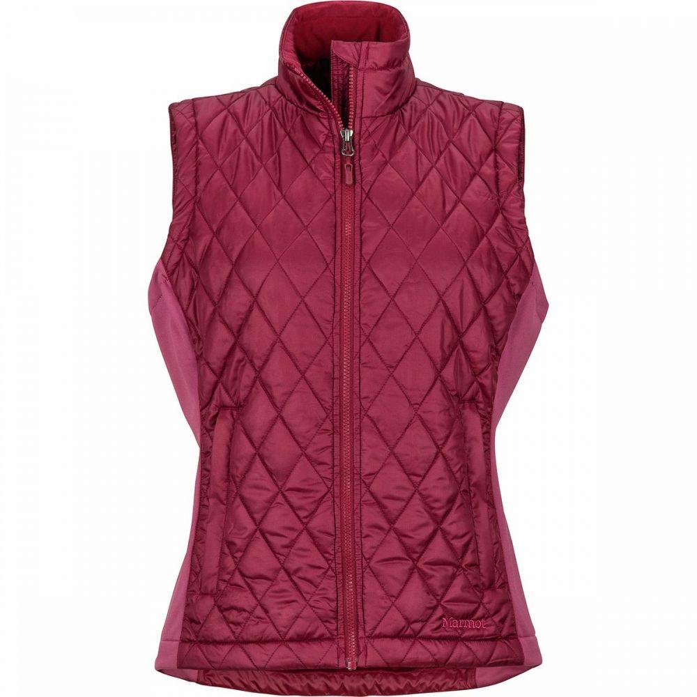 マーモット Marmot レディース ベスト・ジレ トップス【Kitzbuhel Insulated Vest】Claret/Dry Rose