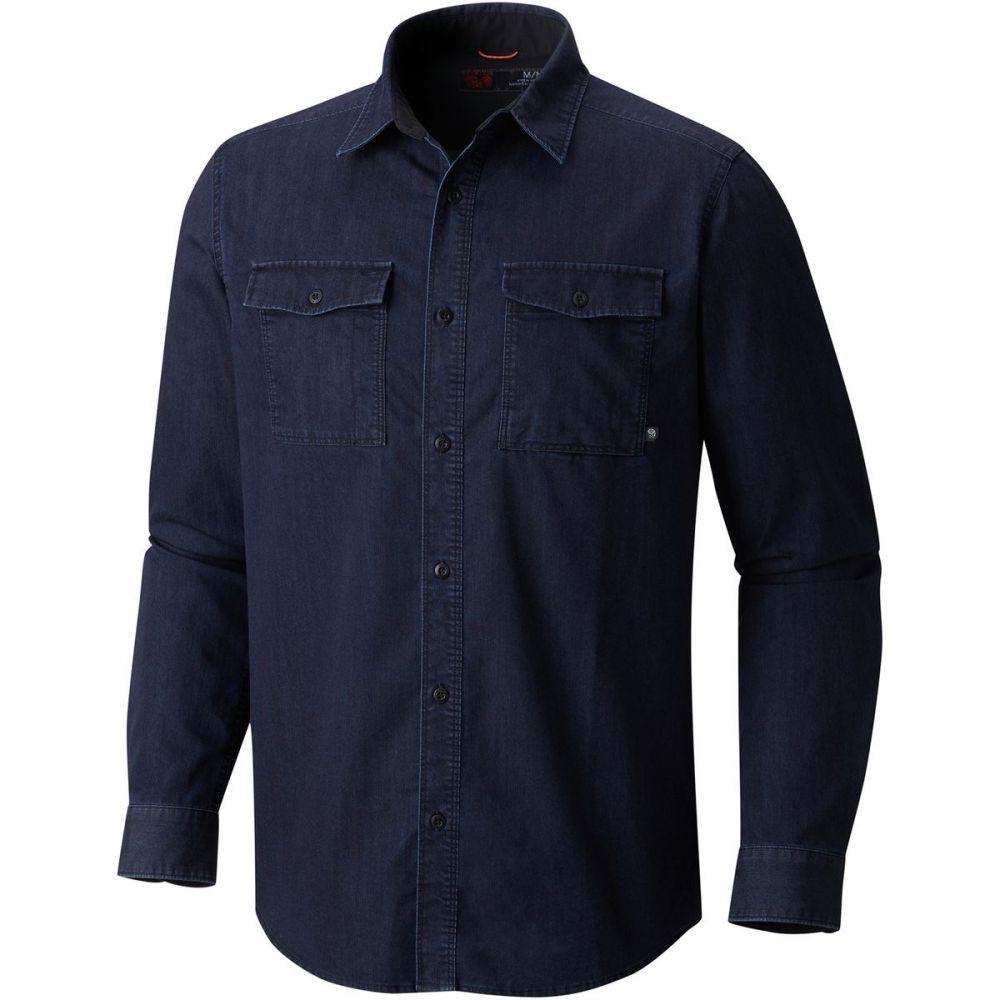 マウンテンハードウェア Mountain Hardwear メンズ シャツ デニム トップス【Hardwear Denim Shirt】Dark Wash