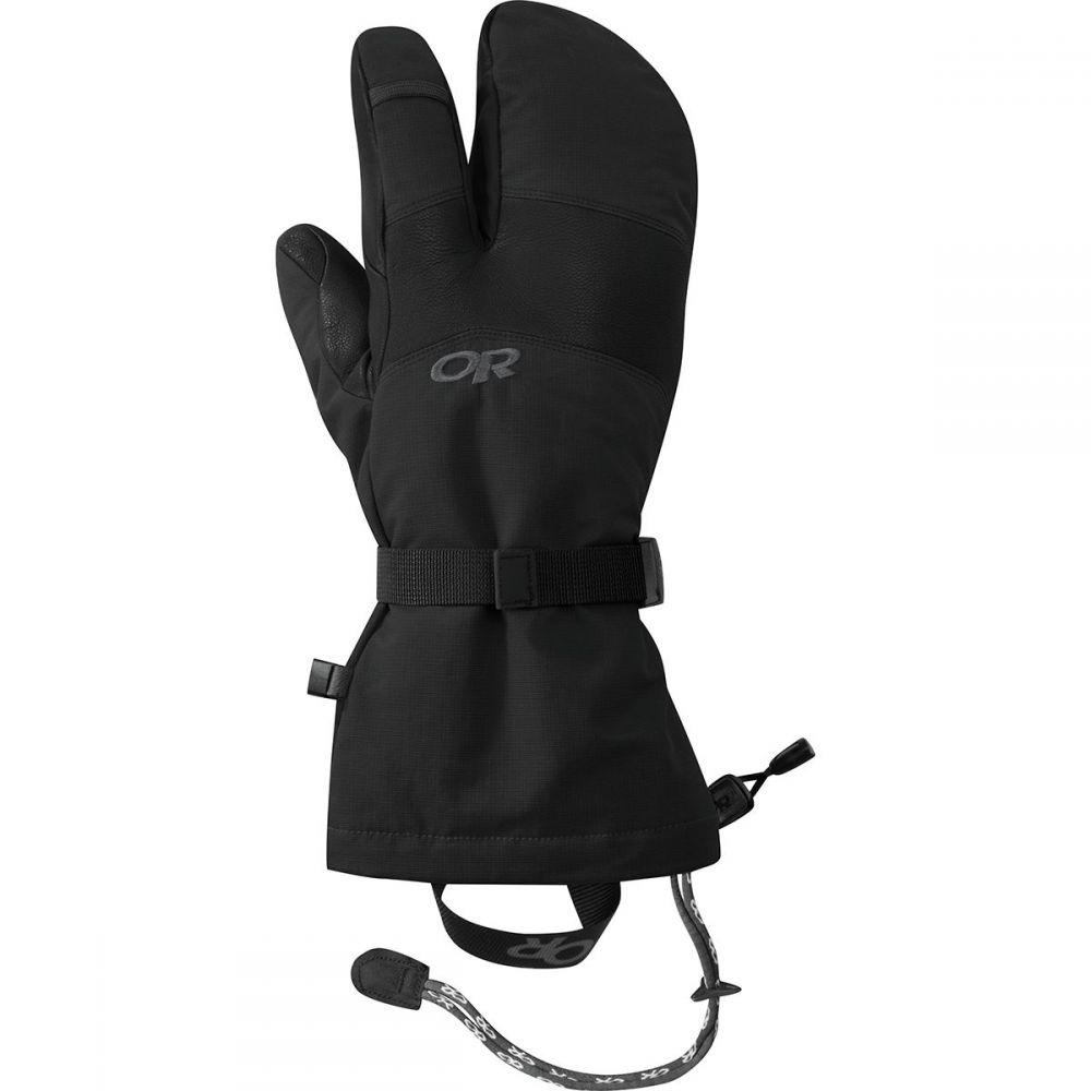 アウトドアリサーチ Outdoor Research メンズ 手袋・グローブ 【HighCamp 3 - Finger Glove】Black