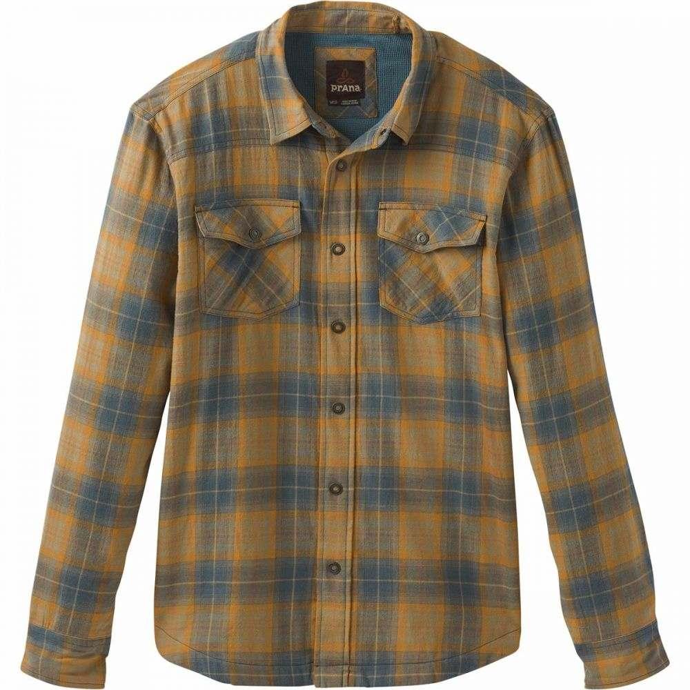 プラーナ Prana メンズ シャツ フランネルシャツ トップス【Asylum Flannel Shirt】Stone