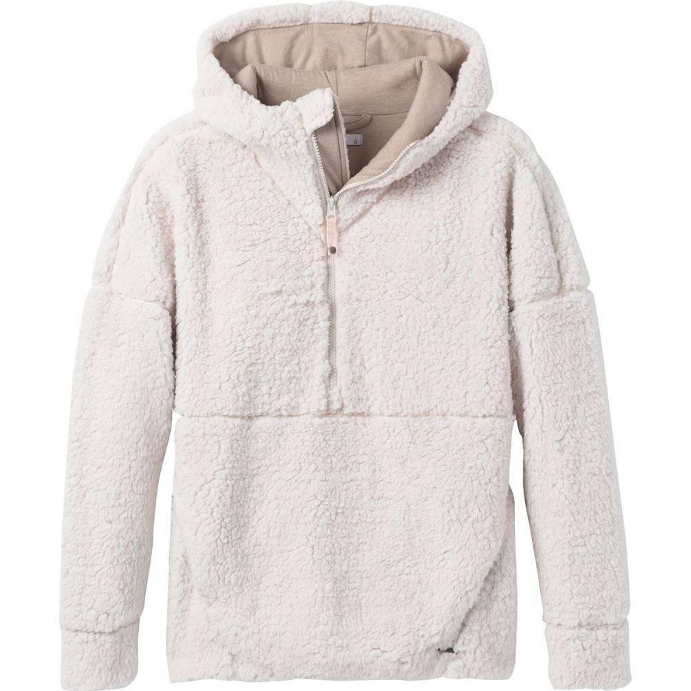 プラーナ Prana レディース フリース ハーフジップ トップス【Permafrost 1/2 - Zip Fleece Jacket】Dream Dust