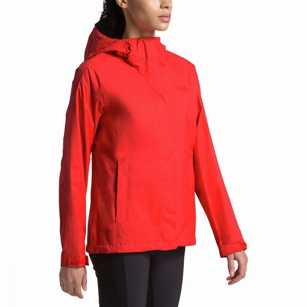 ザ ノースフェイス The North Face レディース レインコート アウター【Venture 2 Jacket】Fiery Red