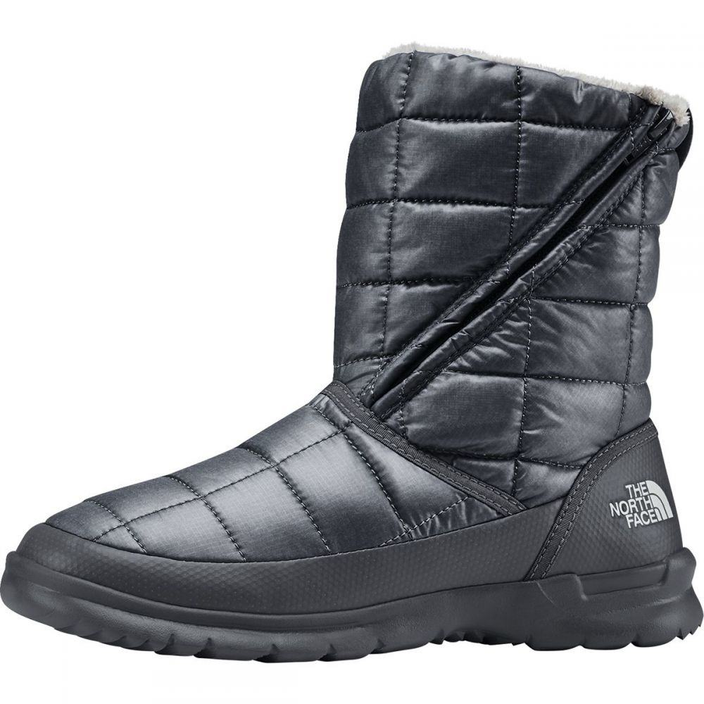 ザ ノースフェイス The North Face レディース ブーツ シューズ・靴【Thermoball Microbaffle Zip Bootie】Zinc Grey/Micro Chip Grey