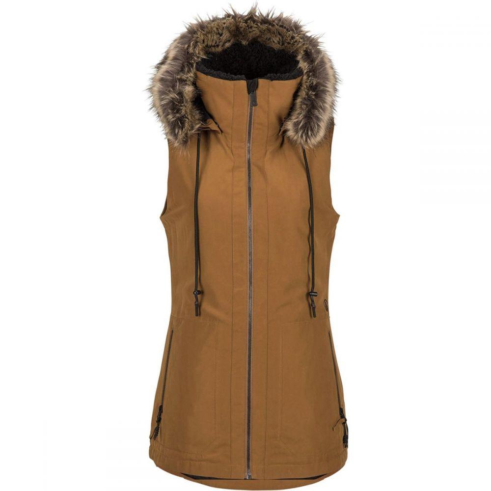 ボルコム Volcom レディース ベスト・ジレ トップス【Longhorn Insulated Vest】Copper