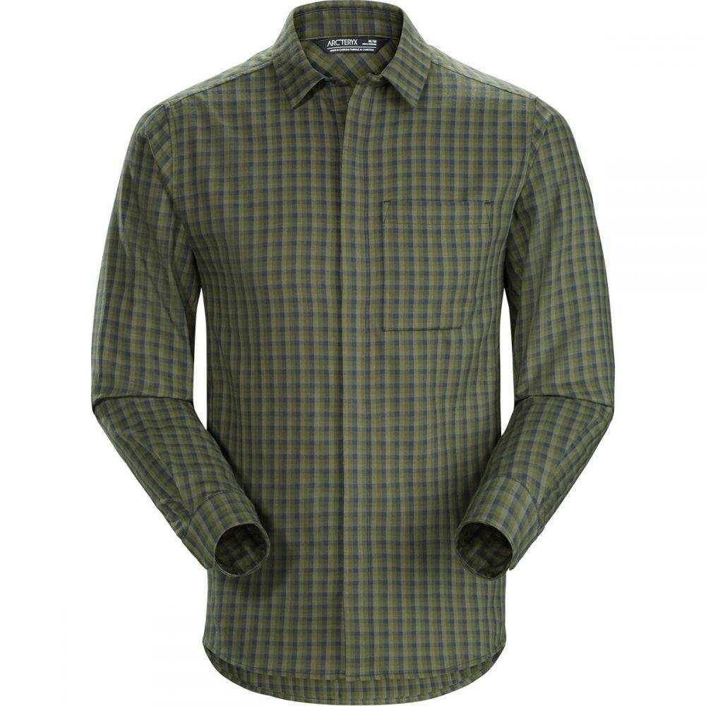 アークテリクス Arc'teryx メンズ シャツ フランネルシャツ トップス【Bernal Long - Sleeve Flannel Shirt】Viridios