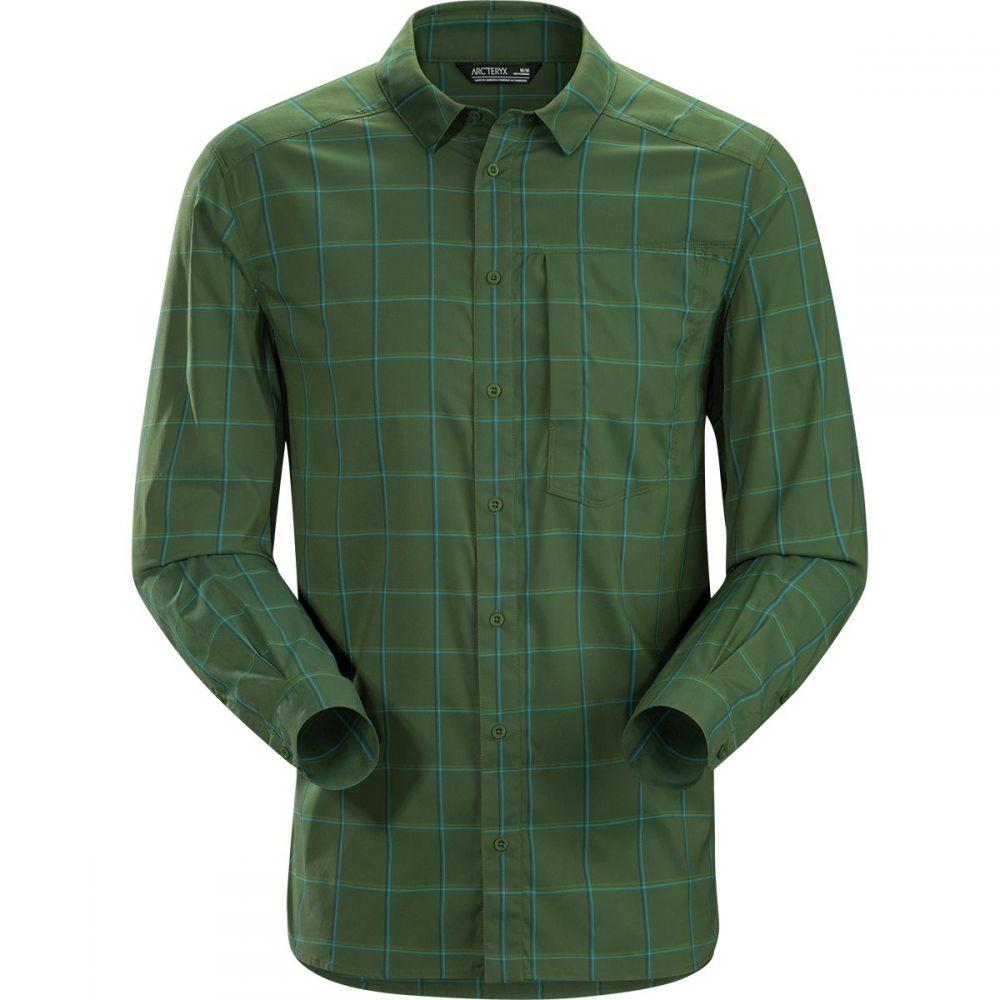 アークテリクス Arc'teryx メンズ シャツ トップス【Riel Long - Sleeve Button - Up Shirt】Loggerhead