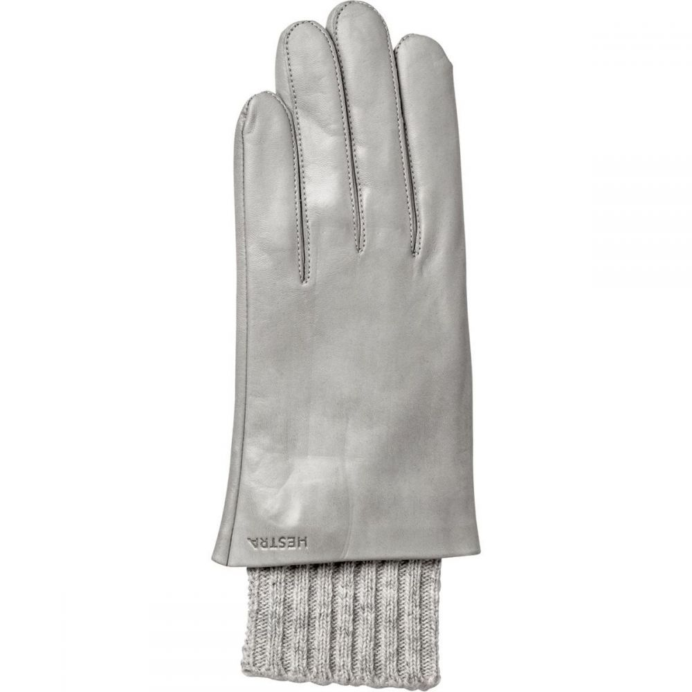 ヘスタ Hestra レディース 手袋・グローブ 【Megan Glove】Misty Grey