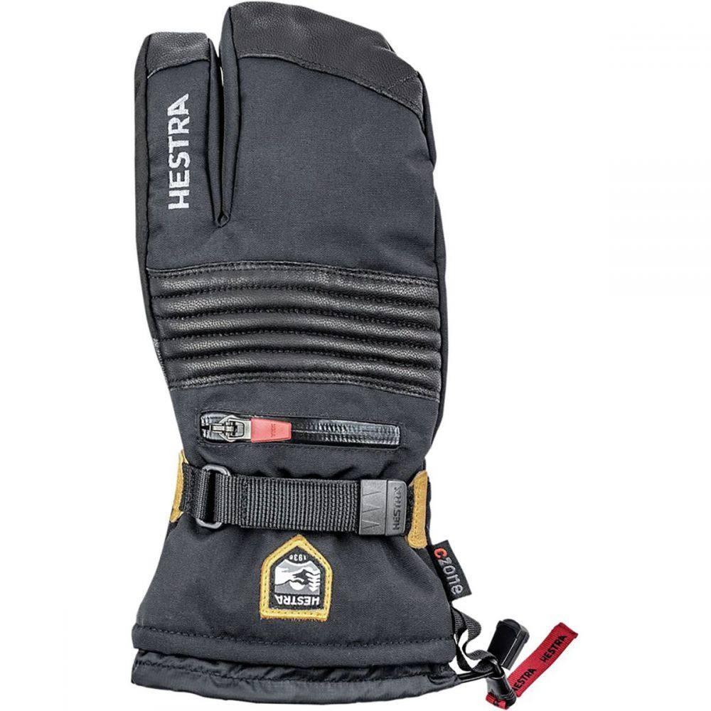 ヘスタ Hestra メンズ 手袋・グローブ 【All Mountain CZone 3 - Finger Glove】Black