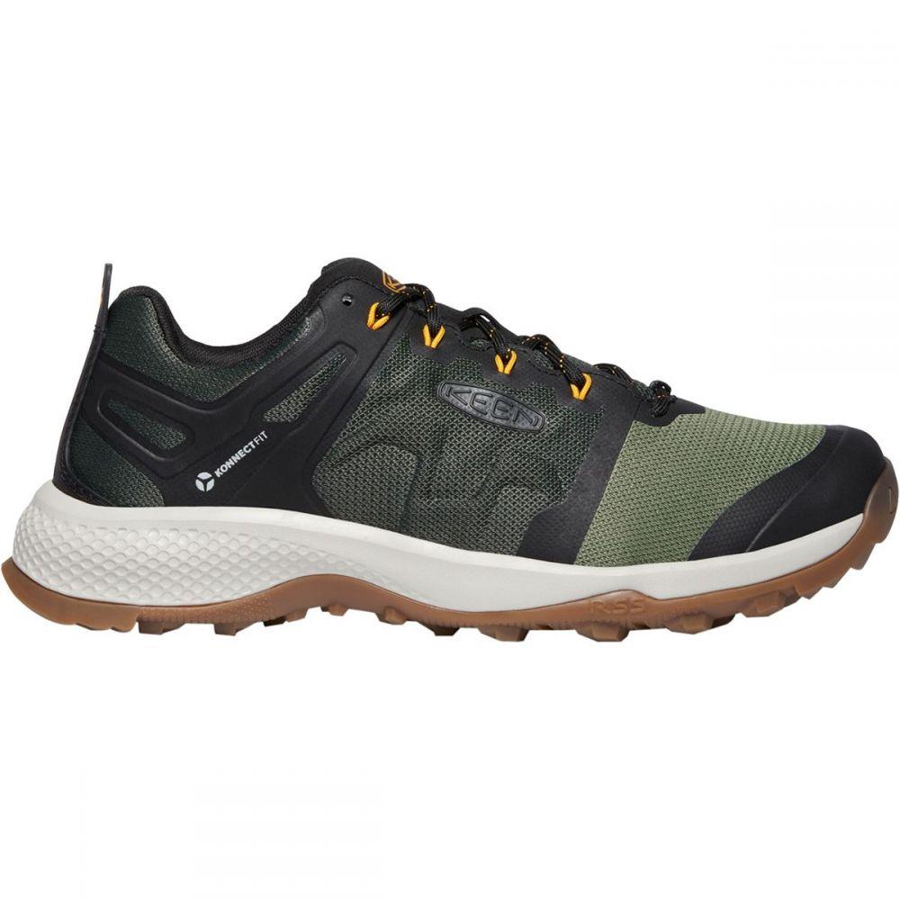 キーン KEEN メンズ ハイキング・登山 シューズ・靴【Explore Vent Hiking Shoe】Climbing Ivy/Oliveine