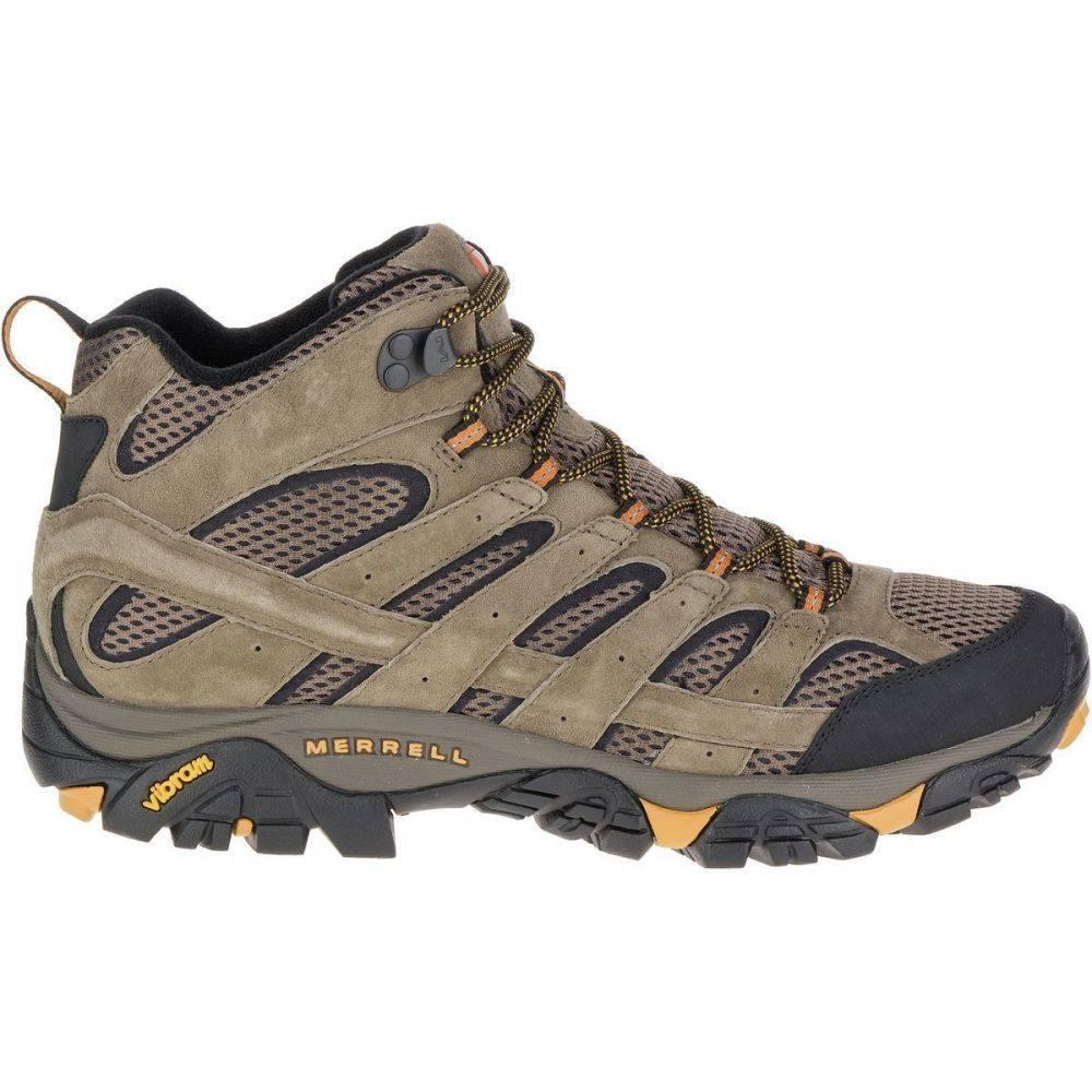 メレル Merrell メンズ ハイキング・登山 ブーツ シューズ・靴【Moab 2 Mid Vent Hiking Boot】Walnut