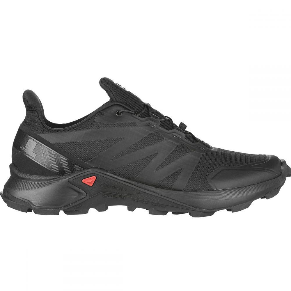サロモン Salomon メンズ ランニング・ウォーキング シューズ・靴【Supercross Trail Running Shoe】Black/Black/Black