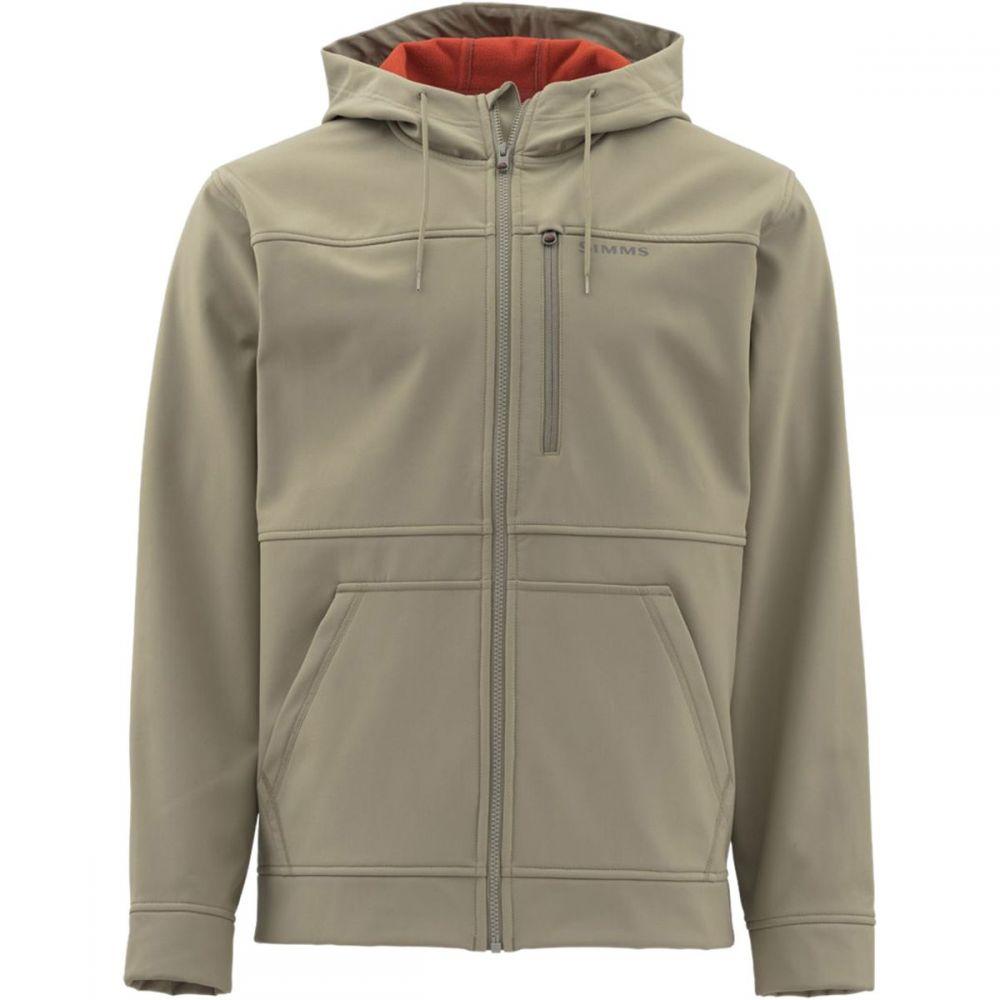 シムズ Simms メンズ フリース フード トップス【Rogue Hooded Fleece Jacket】Tan