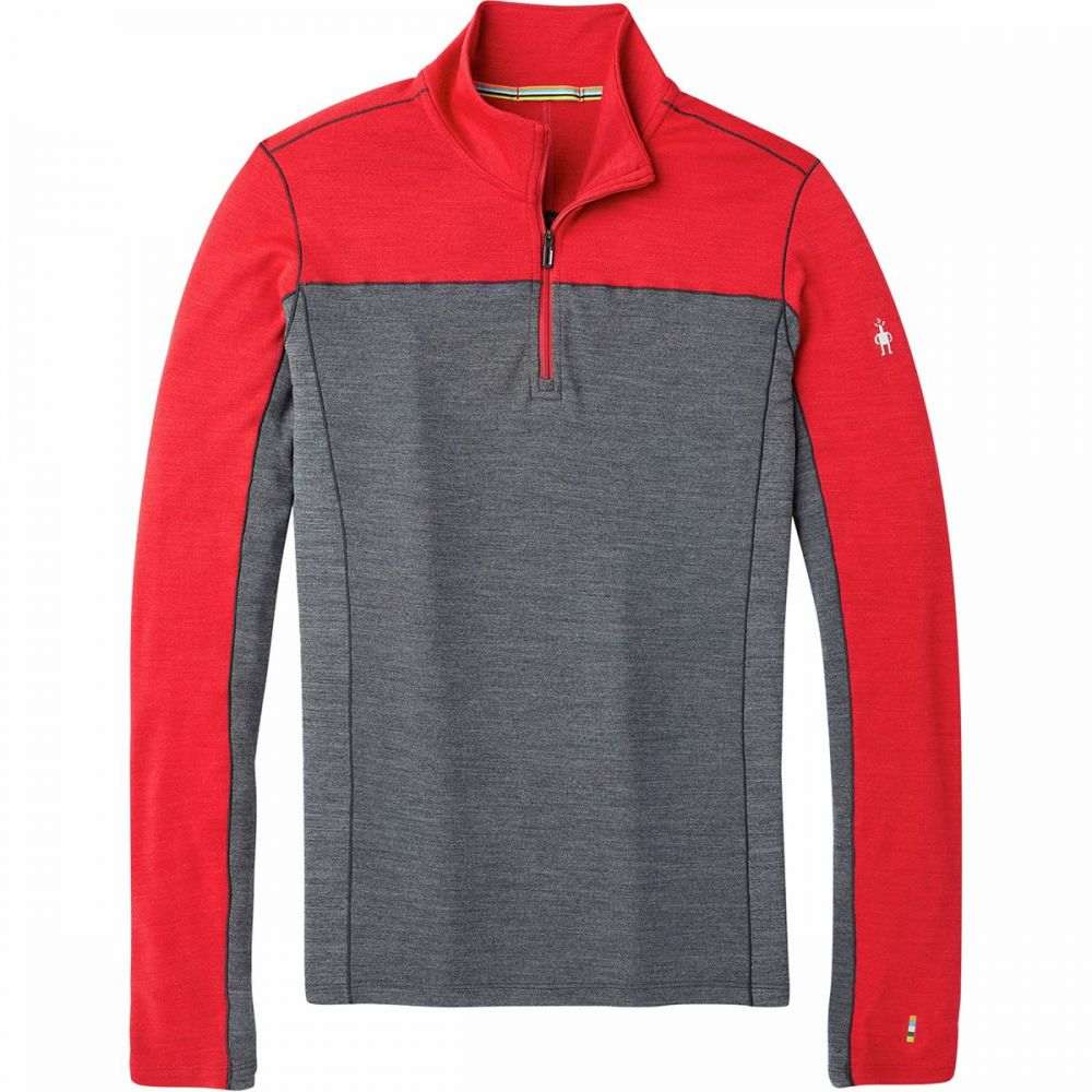 スマートウール Smartwool メンズ トップス 【Merino Sport 250 Long - Sleeve 1/4 - Zip Top】Chili Pepper Heather