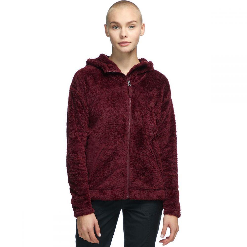 ザ ノースフェイス The North Face レディース フリース フード トップス【Furry Fleece Hooded Jacket】Deep Garnet Red