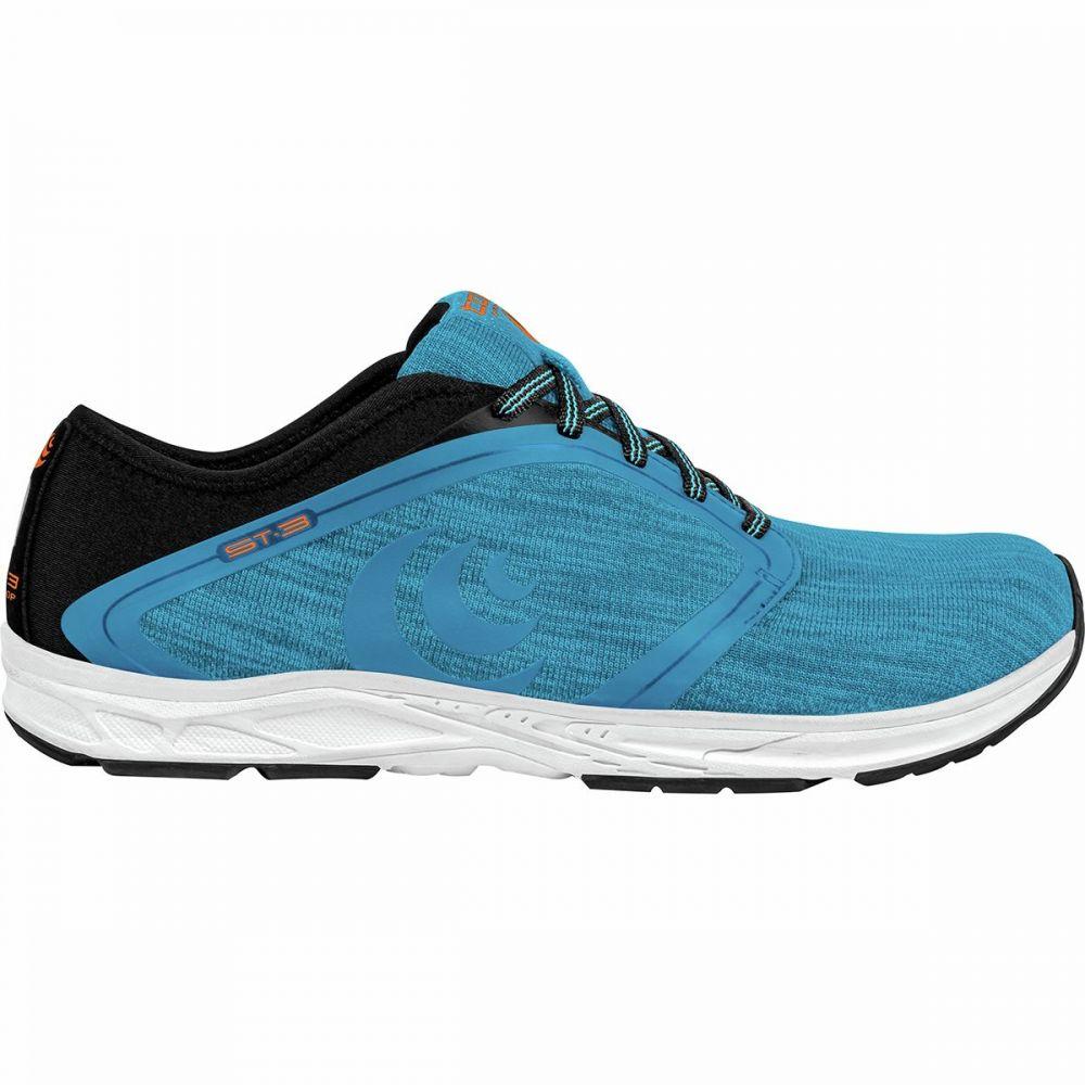トポ アスレチック Topo Athletic メンズ ランニング・ウォーキング シューズ・靴【ST - 3 Running Shoe】Blue/Black