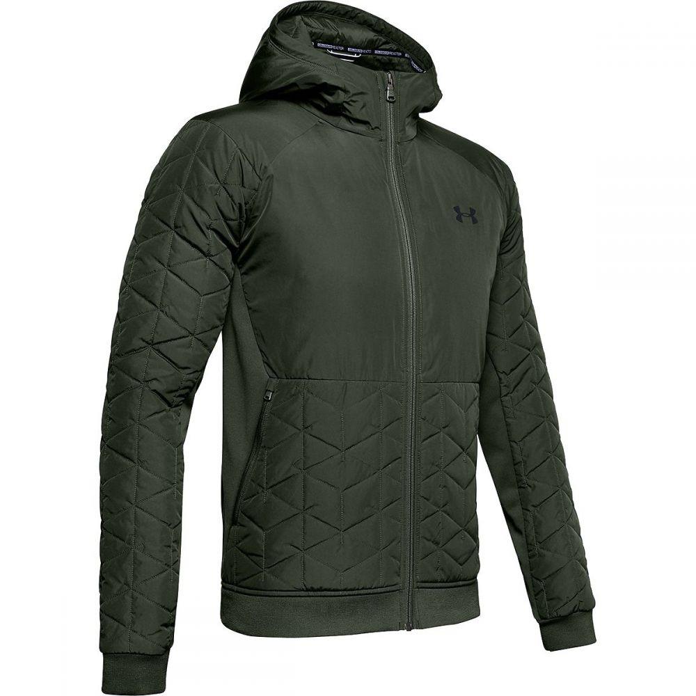 アンダーアーマー Under Armour メンズ ジャケット アウター【Coldgear Reactor Gametime Hybrid Jacket】Baroque Green/Black
