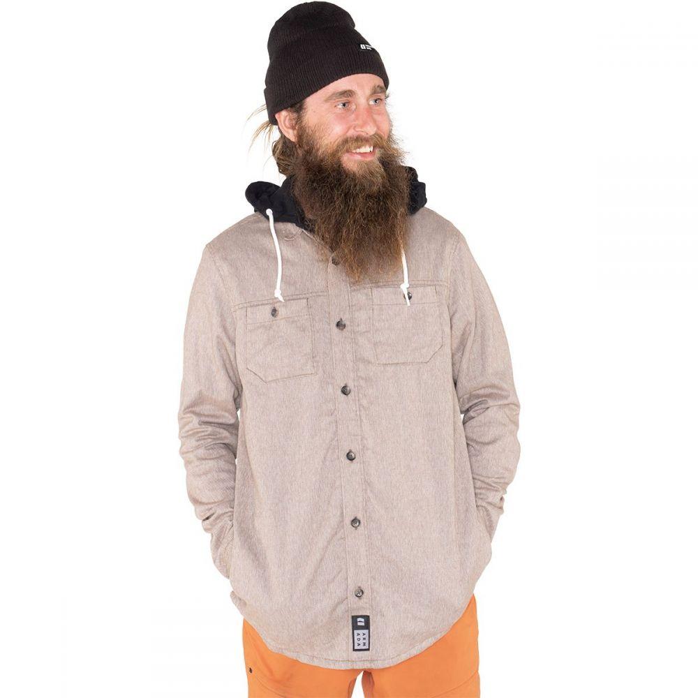 アルマダ Armada メンズ シャツ フランネルシャツ トップス【Reading Hooded Flannel Shirt】Granite