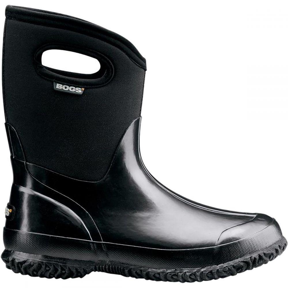 ボグス Bogs レディース ブーツ シューズ・靴【Classic Mid Handle Boot】Black Shiny