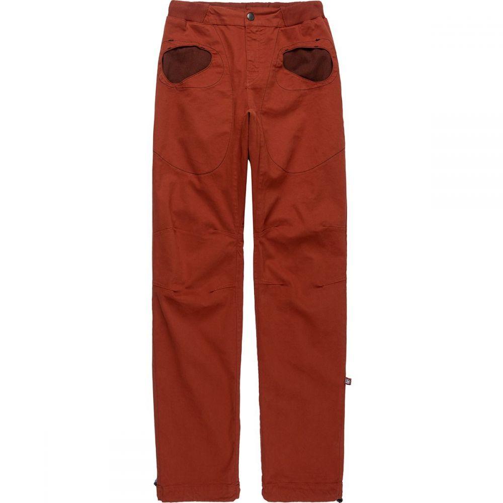 E9 メンズ ハイキング・登山 ボトムス・パンツ Brick 【サイズ交換無料】 E9 メンズ ハイキング・登山 スキニー・スリム ボトムス・パンツ【Rondo Slim Pant】Brick