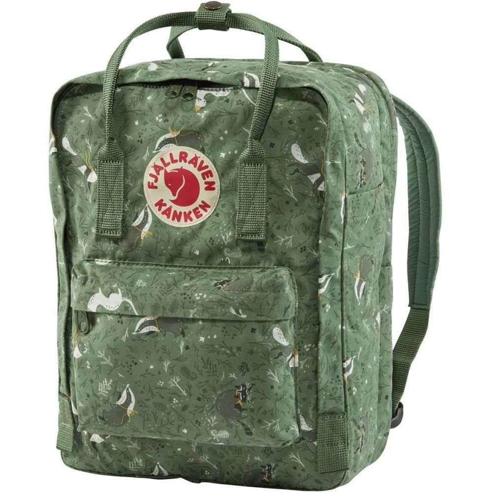 フェールラーベン Fjallraven レディース パソコンバッグ カンケン バックパック バッグ【Kanken Art 13in Laptop Backpack】Green Fable