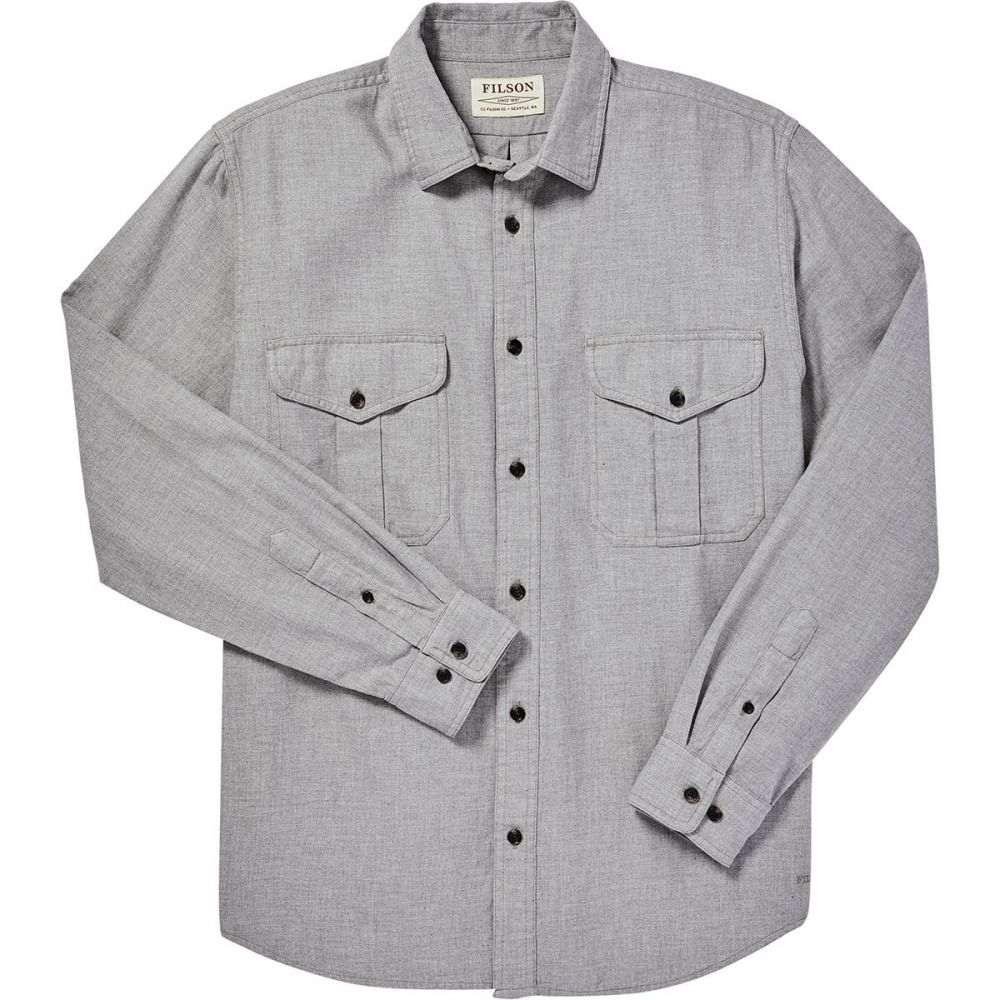 フィルソン Filson メンズ シャツ トップス【Lightweight Alaskan Guide Shirt】Heather Gray