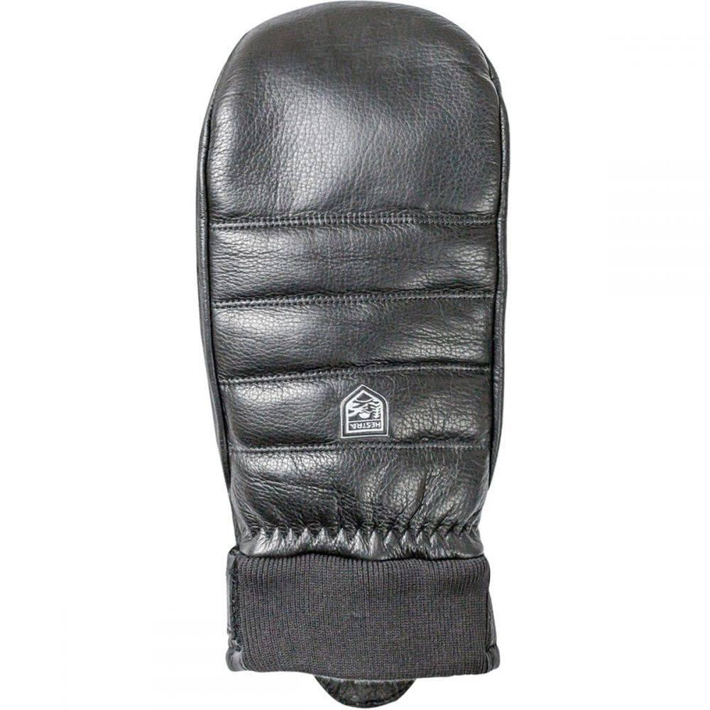 ヘスタ Hestra レディース 手袋・グローブ ミトン【Alpine Leather Primaloft Mitten】Black
