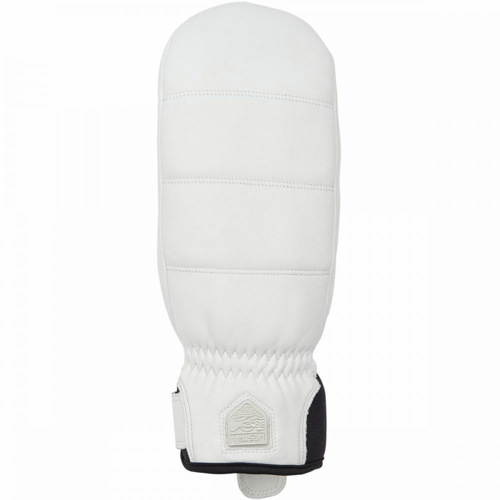 ヘスタ Hestra レディース 手袋・グローブ ミトン【Alpine Leather Primaloft Mitten】White