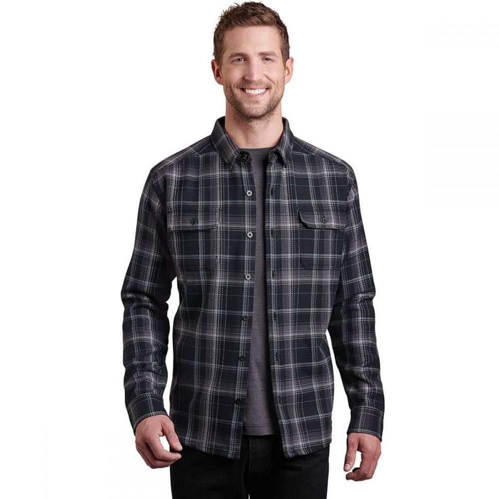 キュール KUHL メンズ シャツ フランネルシャツ トップス【Disordr Flannel Shirt】Black Horizon