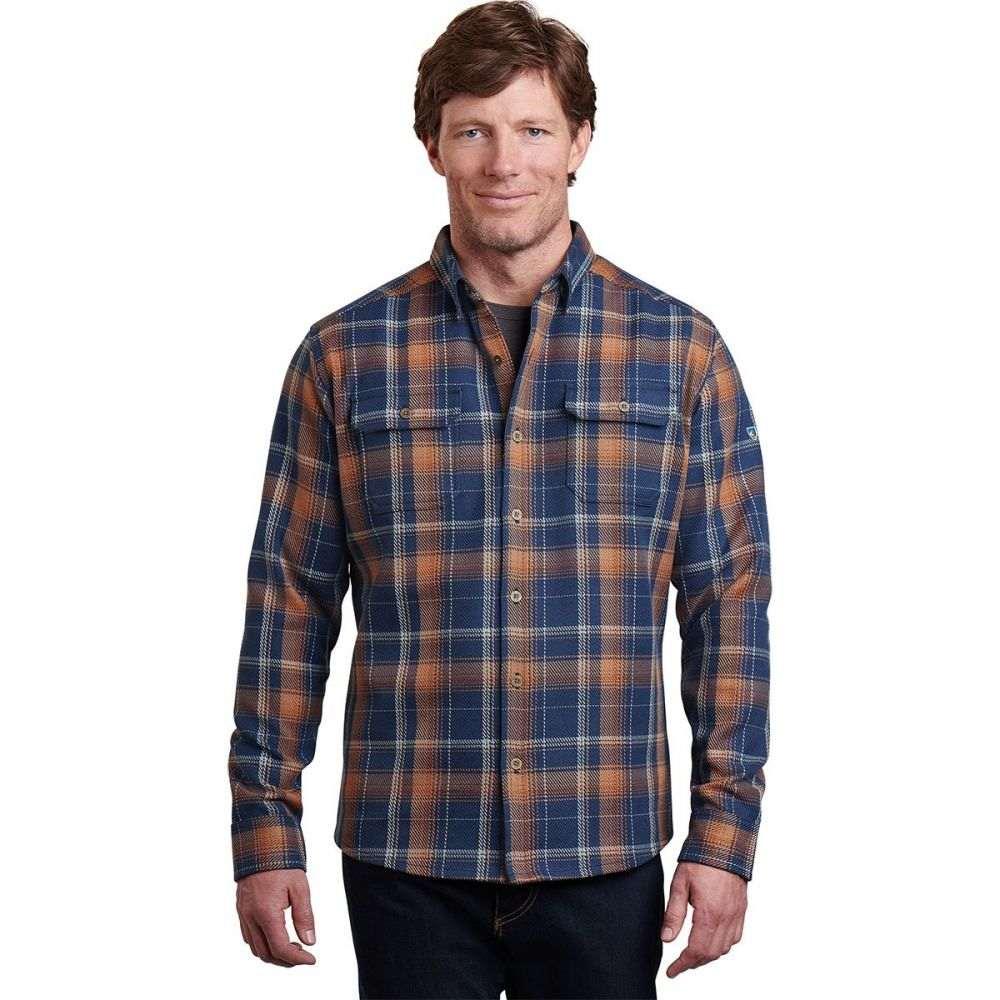 キュール KUHL メンズ シャツ フランネルシャツ トップス【Disordr Flannel Shirt】Eclipse