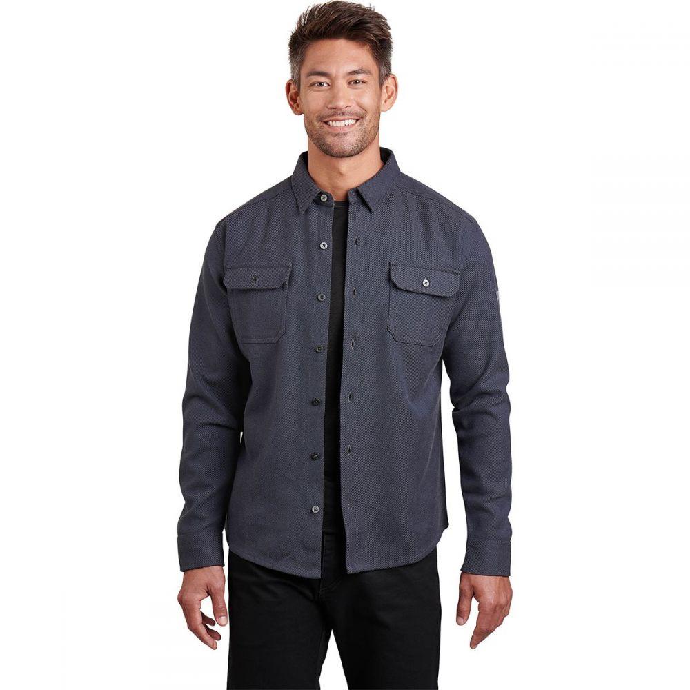 キュール KUHL メンズ シャツ フランネルシャツ トップス【Disordr Flannel Shirt】Mutiny Blue