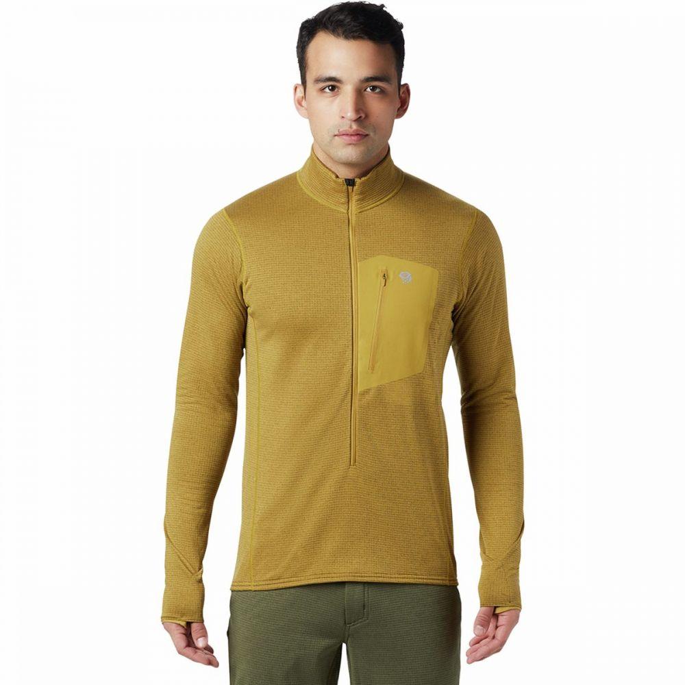 マウンテンハードウェア Mountain Hardwear メンズ フリース トップス【Type 2 Fun 3/4 - Zip Pullover Fleece Jacket】Dark Bolt