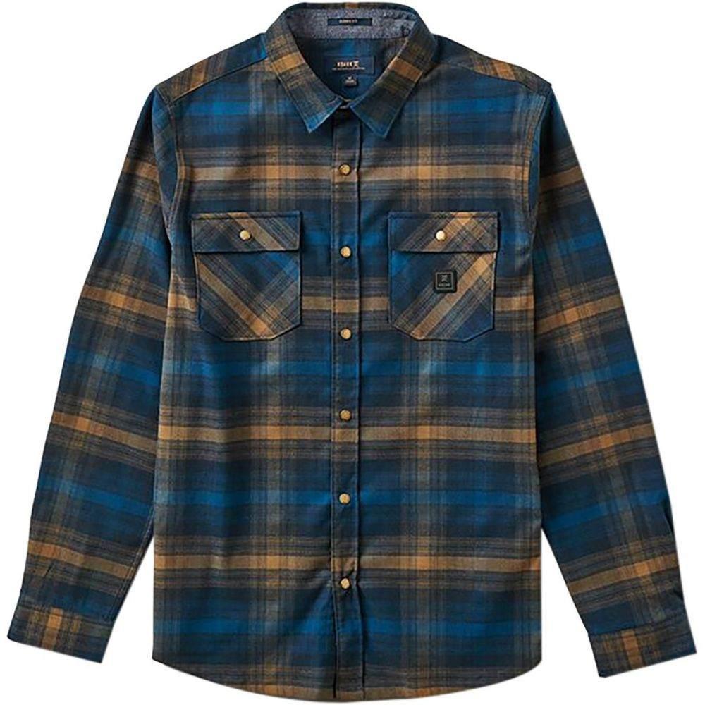 ロアークリバイバル Roark Revival メンズ シャツ フランネルシャツ トップス【Alpinist Flannel Shirt】Blue
