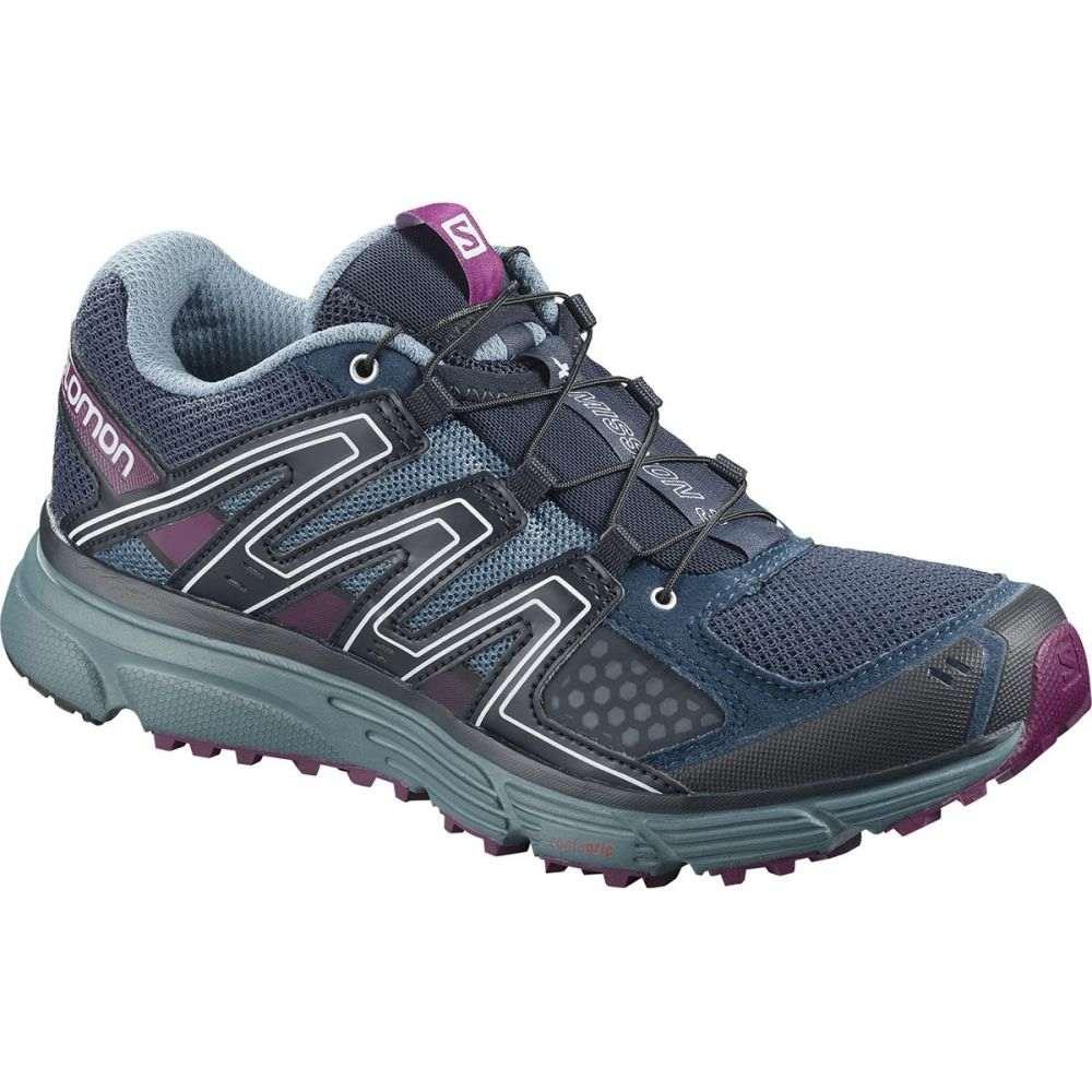 サロモン Salomon レディース ランニング・ウォーキング シューズ・靴【X - Mission 3 Trail Running Shoe】Sargasso Sea/Bluestone/Dark Purple