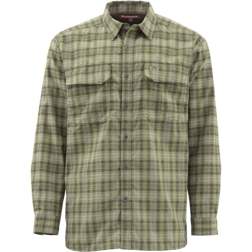 シムズ Simms メンズ シャツ トップス【Cold Weather Shirt】Covert Plaid