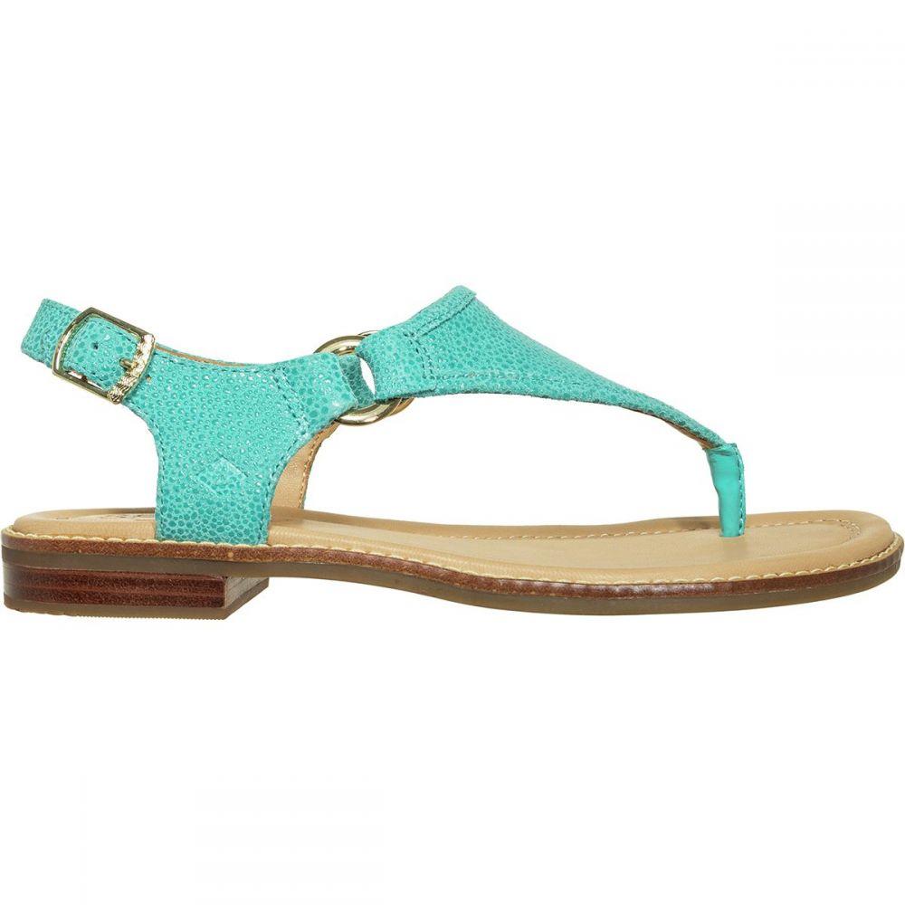 スペリー Sperry Top-Sider レディース サンダル・ミュール シューズ・靴【Abby Sparkle Sandal】Turq