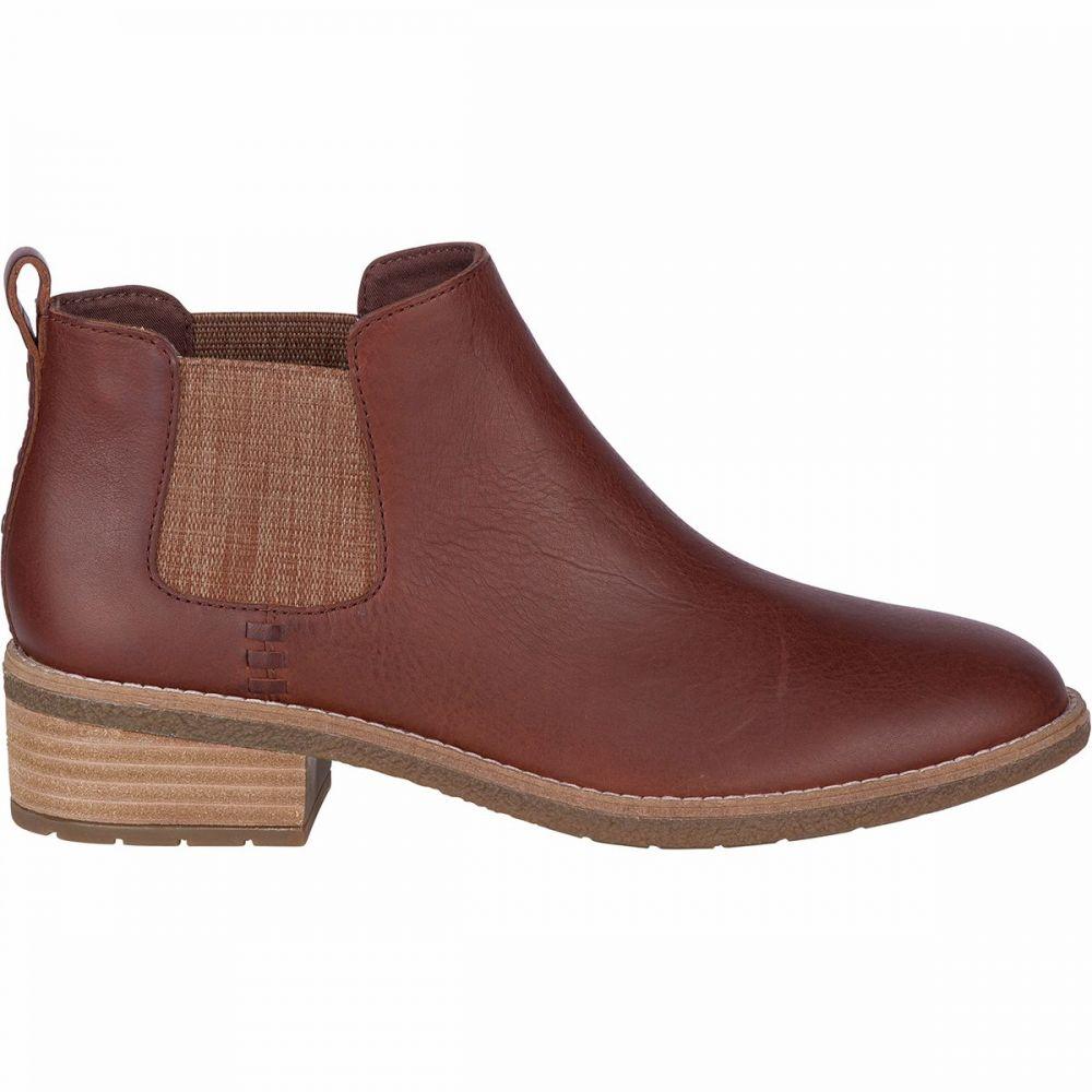 スペリー Sperry Top-Sider レディース ブーツ チェルシーブーツ シューズ・靴【Maya Chelsea Leather Boot】Brown