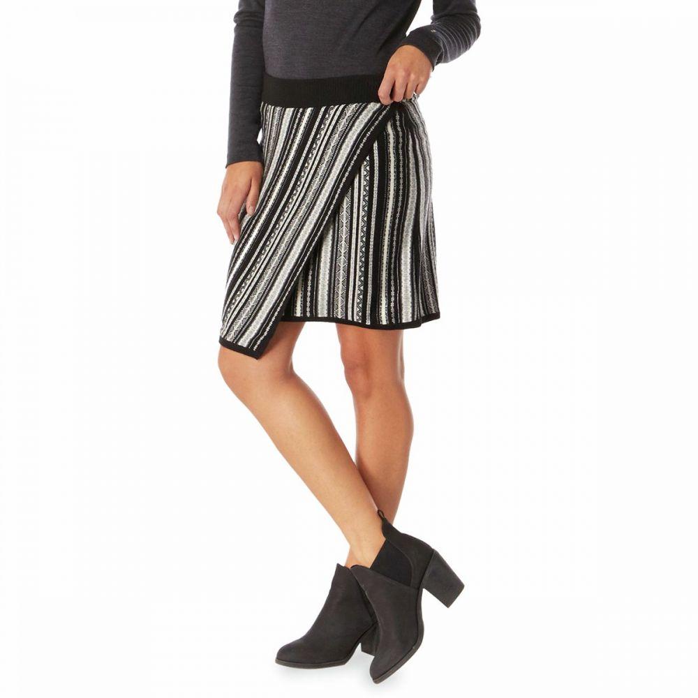 スマートウール Smartwool レディース スカート 【Alpine Lodge Pattern Skirt】Black