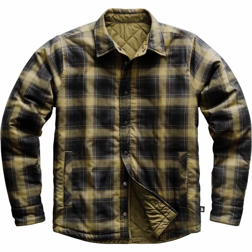 ザ ノースフェイス The North Face メンズ ジャケット アウター【Fort Point Insulated Flannel Jacket】British Khaki