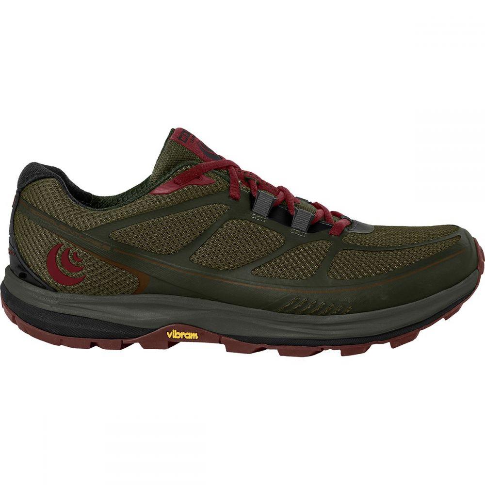 トポ アスレチック Topo Athletic レディース ランニング・ウォーキング シューズ・靴【Terraventure 2 Trail Running Shoe】Olive/Raisin