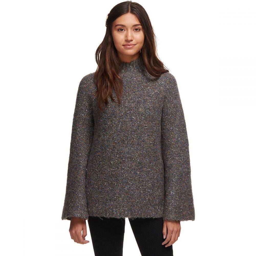 ベイスンアンドレンジ Basin and Range レディース ニット・セーター トップス【Nep Sweater】Grey
