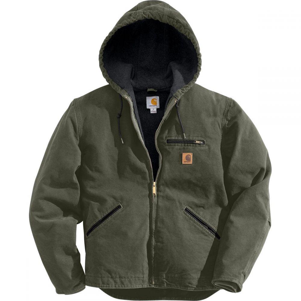 カーハート Carhartt メンズ ジャケット アウター【Sandstone Sierra Jacket】Moss