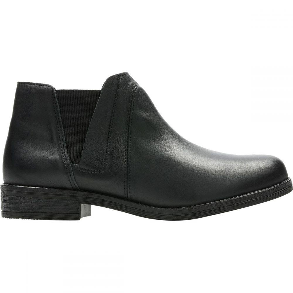 クラークス Clarks レディース ブーツ シューズ・靴【Demi Beat Boot】Black Leather