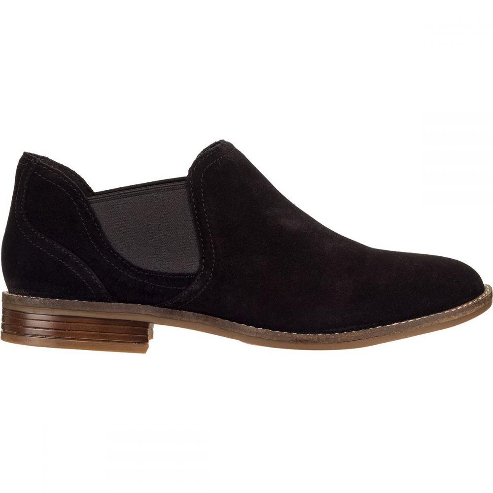 クラークス Clarks レディース ブーツ シューズ・靴【Camzin Maple Boot】Black Leather