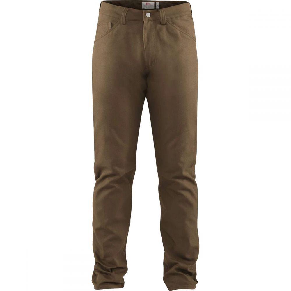 フェールラーベン Fjallraven メンズ ボトムス・パンツ 【Greenland Canvas Jeans】Dark Sand